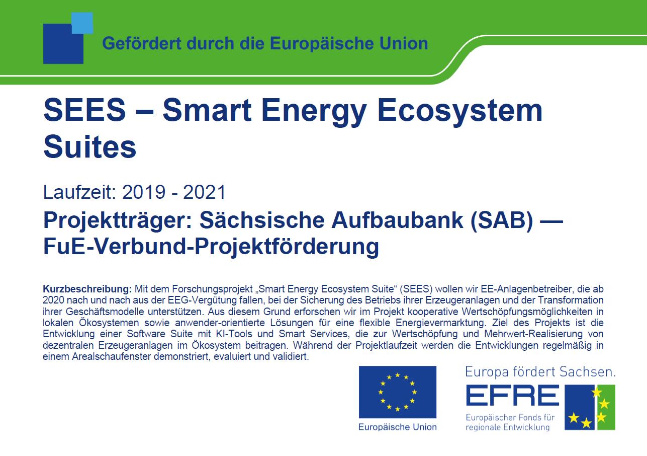 SEES - Smart Energy Ecosystem Suites