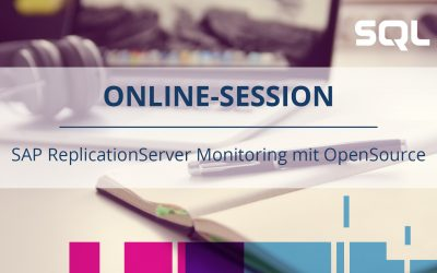 SAP ReplicationServer Monitoring mit OpenSource