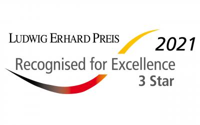 SQL Projekt AG beim Ludwig Erhard Preis 2021 ausgezeichnet